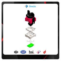 اختبار مقبس IC لالاختبار اليدوي/التلقائي BGA162 EMCP لأشباه الموصلات