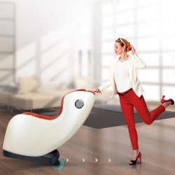 Электрический Домой Назад шиатсу динамического шарики дешевые музыки массажное кресло
