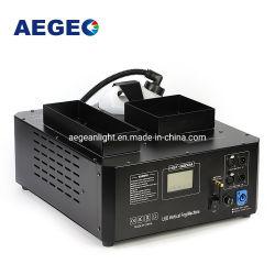 DJ装置3000Wの上向きのスプレー縦LEDの煙機械21PCS RGBカラーDMX煙の霧機械