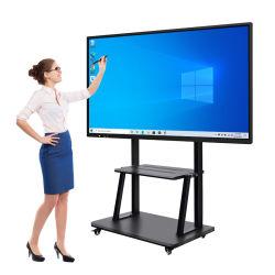 OEM Factory 4K Classroom TV Display Interactive Flat Panel Digital Schrijven van LCD Whiteboard-aanraakscherm Smart Board voor het onderwijzen en Vergadering