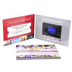 2.4인치 USB 디지털 LCD 비디오 플레이어 인사말 카드, 빈 비디오 이름 카드