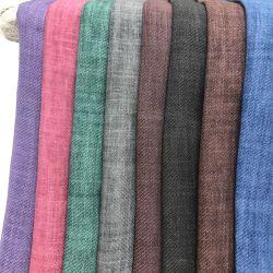 Мода чистый Саржа Ramie пигмента окрашивания ткани для одежды и Hometextile