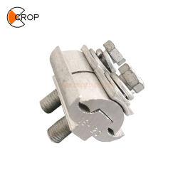 Abrazadera de alambre de aluminio Pg ranura paralelo Conector para cable de transparencias
