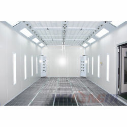 Wld8400 Professionele kamer met spuitcabine en verfcabine van hoge kwaliteit CE-certificaat / Cabina de Pintura