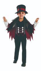 Хэллоуин детей этапе закон Скелетный вампир косплей Ferformance Dance-участник тьмы костюм