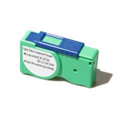 광섬유 연결관 청소 카세트 섬유 Sc/FC/Mu/LC/St/MPO 청소 공구를 위한 광학적인 세탁기술자 상자