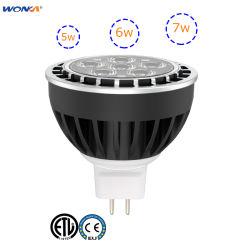 5 Watt - 60 degrés - MR16 - Paysage LED lampe - 12 volts - 3000K