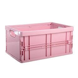 50 Mand van de Container van de Opslag van Sundries van het Speelgoed van de Doek van de liter de Opvouwbare Stapelbare Plastic