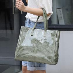 حقيبة يد ساخنة جديدة فاخرة من نوع بي سي بلاستيكية
