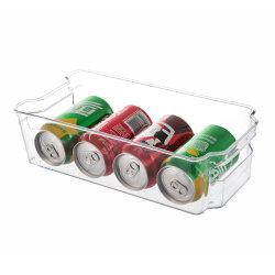 Différents modèles en Plastique Transparent PET Réfrigérateur réfrigérateur de stockage pour la cuisine de l'organiseur