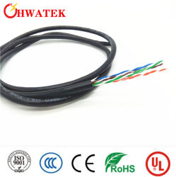 كبل معزول لكبل شبكة Ethernet من نوع CAT6 UTP (كبل مزدوج مجدول غير محمي) لشبكة Ethernet LAN (شبكة محلية