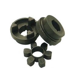 HRCのカップリングのステンレス鋼のくものカップリングシャフトの適用範囲が広いゴム製合金の鎖ギヤコネクターの高圧CamlockのNon-Lovejoyシヤーピンのビームディスク顎クランプ