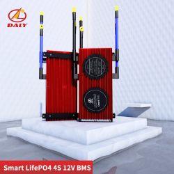 Corrente Alta Smart BMS LiFePO4 4s 12V+485 Bluetooth ao dispositivo USB + Pode+Ntc +Togther Uart Lion LiFePO Batteries2.3V LTO4/2.4