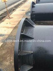 La boue de sable de dragage dragage de mines SSAW spirale carbone Arc Submergé Durit du tuyau en acier soudé tube