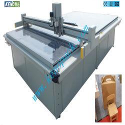 키노 Zx 판지 상자 인쇄는 절단기를 정지한다