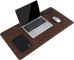 Yugland Oficina Escritorio resistente al agua la almohadilla de cuero Protector Blotter gran escritorio escrito Mat Mouse Pad