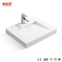 ホテルのための人工的な石造りの樹脂の浴室の虚栄心の流し