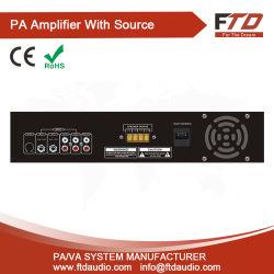 Системы голосового оповещения 500W экономики а заслонки смешения воздушных потоков в формате MP3 и FM