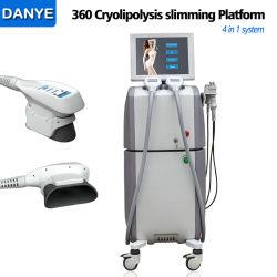 2019 Nieuwe 360 Cryolipolysis VacuümCavitatie rf 4 in 1 Vette het Bevriezen Coolscuplting Machine van het Vermageringsdieet van het Lichaam