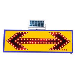 Led Blu Alluminio Road Safety Arrow Cartello Traffic Light