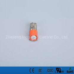 Lampadina miniatura 48VDC di IP65 Ba7s-T LED rossa, verde, giallo, bianco