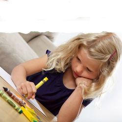 8 色を塗る子供は洗浄できるクレヨンの学校の供給を塗る
