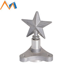 La moda de aleación de aluminio Custom de repuesto piezas de artesanía fundido