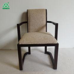 Decoração belíssima Madeira sala de jantar cadeiras com rebites de hotel ou restaurante