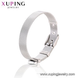Armband van de Gesp van de Juwelen van de Kettingdragers van het roestvrij staal de Dikke