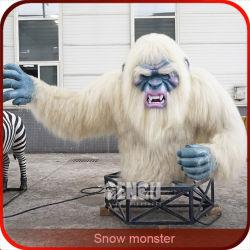Zigong Snow Monster Gengu Produtos Animatronic Jogo de entretenimento