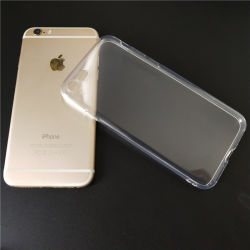 1.0Mm Crystal Clear TPU Transparent cas Téléphone Mobile pour iPhone/Samsung/Huawei/oppo/VIVO/Xiaomi