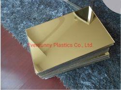 1220*2440mm 3 mm 2 mm 4 mm de hauteur de la qualité de l'or miroir/Siliver feuille acrylique avec des prix concurrentiels