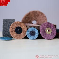 Disco de lixa abrasiva em tecidos não-, cerâmica, óxido de zircónio