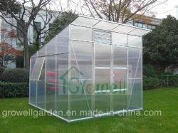 Novo passeio no jardim Hobby estufa com um estilo especial Painel de policarbonato