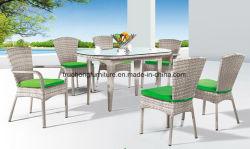 方法最も新しいデザイン屋外の家具のPEの藤の屋外の家具のPEの藤表およびPEの藤の椅子の庭の家具
