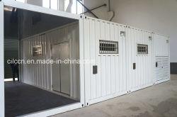 ISO Gewijzigde Container/20 ' voet Gewijzigde Container voor de Winkel van Vissen met Roestvrije Decoratie (cILC-ceremoniemeester-Shop001)