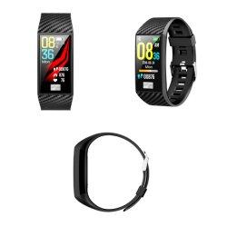 """Le plus récent montre de sport Intelligent 1.14 """" carré IPS LCD avec étanches IP68 montre-bracelet à puce"""