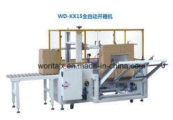 Macchina per l'imballaggio delle merci della scatola a bassa velocità automatica del nastro adesivo Wd-Zx15 per le bottiglie /Can