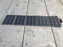 Высокая эффективность портативный солнечная панель 200W одеяло для кемпинга