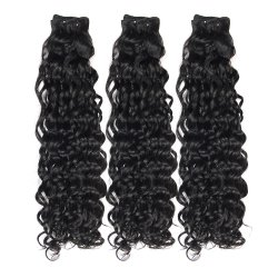 Parti di tessitura dei capelli dei gruppi di estensione all'ingrosso dei capelli umani della fabbrica