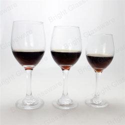 Clair soufflé bouche de la tige de verre de vin pour l'Hôtel et restaurant