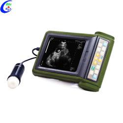 Scanner veterinario portatile di ultrasuono di gravidanza animale