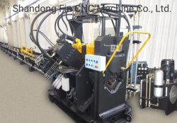 ناقل الحركة خط البرج تصنيع الماكينة CNC خرم الصراغ و ماكينة وضع العلامات لزاوية 63 مم*63 مم*4 مم-200 مم*200 مم*20 مم