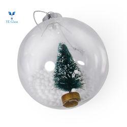 대중적인 축제 선물 유리 거는 크리스마스 나무 훈장