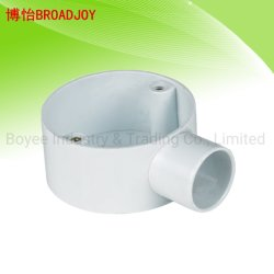 Belüftung-elektrisches Verkabelungs-Rohr-Stück-Befestigungs-Rohrfitting