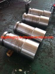 SAE1045 Arbre de pignon en acier forgé ou de l'arbre à four rotatif
