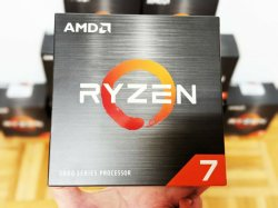 AMD Ryzen 7 5800X 데스크탑 프로세서 3.8GHz 최대 4.7GHz, 8코어, 소켓 AM4 데스크탑 CPU