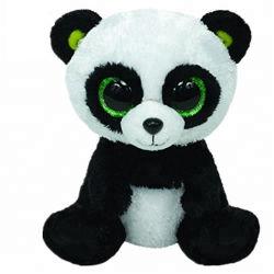 2021 Nouvelle peluche Ty animal en peluche Valentine Panda ours en peluche avec le coeur assez doux personnalisé de gros gros yeux Panda jouet en peluche