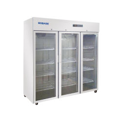 BioBase 1500L drie glazen deur Commerical Lab Refrigerator voor het ziekenhuis