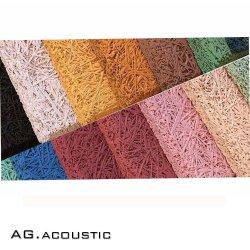 AG. لوحات حائط امتصاص الصوت مطلية بالخشب